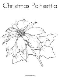 Click the unique poinsettia coloring pages to view printable version or color it online (compatible with ipad and android tablets). Christmas Poinsettia Coloring Page Twisty Noodle