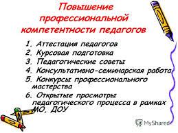 Презентация на тему Педагогический совет Установочный г  9 Повышение профессиональной компетентности