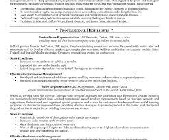 Benefits Representative Sample Resume Resume Medical Device Sales Resume 14
