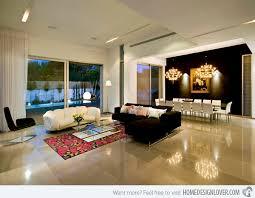 Brilliant White Floor Tiles Living Room With Models Design