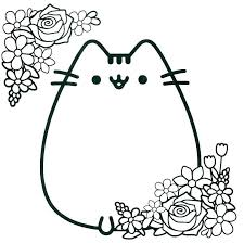 Coloring Page Cat Coiffurehommeinfo