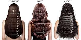 Hair Length Chart Weave Straight Relaxed Perm Straight Hair Perfect Locks