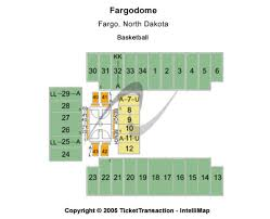 Fargodome Tickets In Fargo North Dakota Fargodome Seating