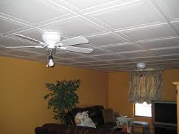 Basement Drop Ceiling Ideas Fan
