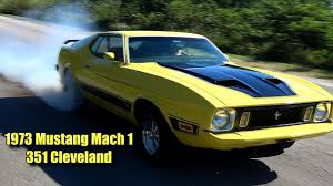 1973 Mustang Mach 1 - YouTube