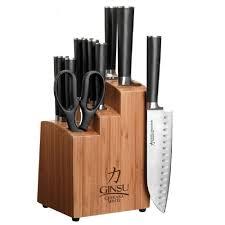 ginsu chikara 12 piece knife set