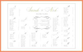 Excel Seating Chart Template Wedding Seating Chart Template Wedding Excel Blank Classroom