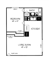 One Bedroom Apartment Layout 1 Bedroom Apartment Plans Theapartment