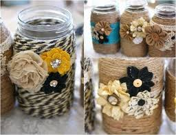 Decorated Jars Craft Ways Decorate Mason Jars Recycled Things DMA Homes 100 2