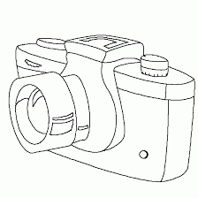 Small Picture Drawing of camera Free kids coloring to print