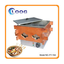 fast food maker commercial 6 grid electric wooden oden making machine oden fast