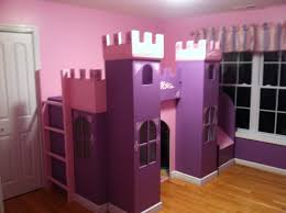Build A Princess Bed Princess Castle Loft Bed Plans Bed Furniture Decoration