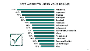 Words To Use In A Resume Unique Phrases To Use In A Resume Job Category On Action Words For Best
