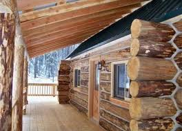 Small Picture Real log cabin kit home from Montana Mobile Cabins Prefab