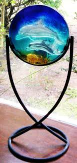Fused Glass Display Stands Image result for making fused glass stands iron and glass 93