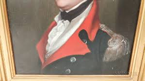 john trumbull new york connecticut england 1756 1843 portrait of brigar general ebenezer huntington
