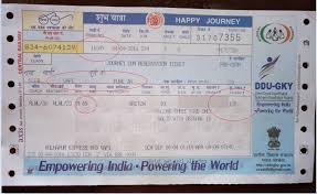 Indian Railway Fare Chart 2018 No Waiting List Status Rail Train Ticket From 1st July As