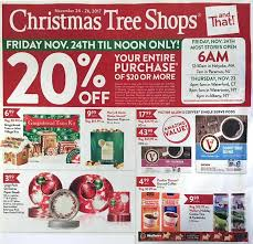Christmas Tree Store  Christmas Lights DecorationThe Christmas Tree Store Flyer