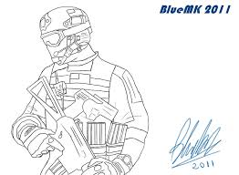 Small Picture Call Of Duty Advanced Warfare Coloring Pages Sketch Coloring Page