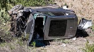 Woods reed volgens politie 60 kilometer per uur te hard bij auto-ongeluk |  NU - Het laatste nieuws het eerst op NU.nl