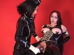 Women in rubber bondage