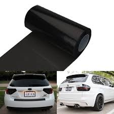 Car Light Film 12 By 48 Inches Self Adhesive Headlight Bumper Hood Paint