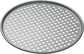 MasterClass 32 cm Perforated <b>Pizza</b> Tray with PFOA Free Non <b>Stick</b> ...