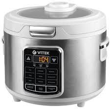 Купить <b>Мультиварка VITEK VT-4281</b> белый/серебристый по ...