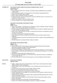 Sample Dispatcher Resume Transportation Dispatcher Resume Samples Velvet Jobs 15