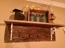 Diy Wood Coat Rack DIY Barn Wood Coat Rack The Little Frugal House 63