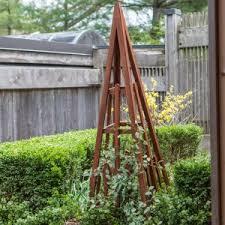 garden obelisk trellis. Coral Coast Halstead Wood Obelisk Garden Trellis P