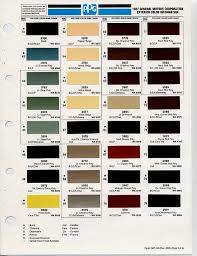 Cherokee Color Chart 44 Factual Gm Paint Colors