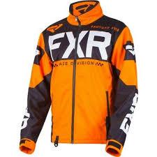Fxr Cold Cross Rr 19 Mens Snow Jacket Orange Black Xl