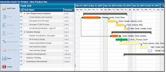 Project Management Task Chart Task Management Software Gantt Chart Software Zilicuspm