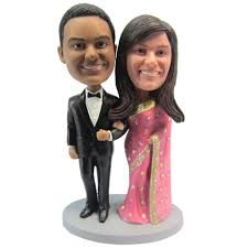 express personalized bobblehead doll india couple wedding gift wedding decoration polyresin custom doll