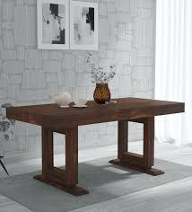 lawson solid wood 6 seater dining table