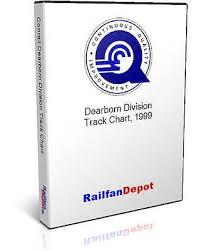 Conrail Dearborn Division Track Chart 1999 Pdf On Cd