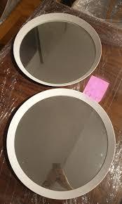 IKEA LANGESUND <b>Mirror</b>, <b>White 50 cm</b> (New), Home & Furniture ...