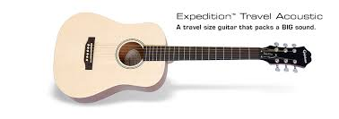travel size guitar epiphone expedition
