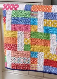 Try Bonnie Scotsman if You're Looking for a Quick and Easy Quilt ... & Jelly Sandwich Quilt Adamdwight.com