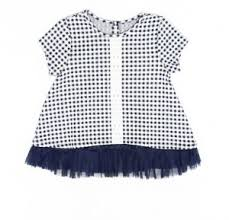 Pippa And Julie Size Chart Details About Pippa Julie Baby Girls Top Blue Size 4t Pleated Gingham Check Lace 838