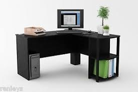 l shaped corner desk. Image Is Loading L-Shaped-Corner-Desk-Workstation-Computer-Home-Office- L Shaped Corner Desk S