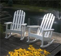polywood adirondack rocking chairs. Unique Polywood POLYWOOD Adirondack Rocking Chair For Polywood Chairs A