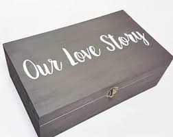 Memory Box Decorating Ideas Our story box Etsy 48