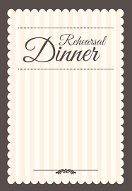 Dinner Party Invitations Templates Stamped Rehearsal Dinner Free Printable Rehearsal Dinner Party 2