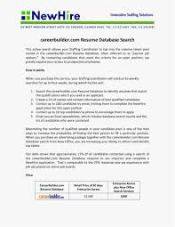 Careerbuilder Resume Search New Template 20 Luxury Career Builder