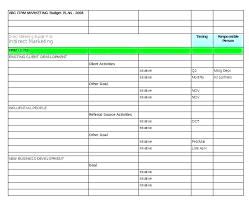 Marketing Budget Plan Social Media Report Template And Example Tracking So