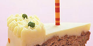 How long that will take depends on your oven. Birthday Meatloaf Cake Recipe With Images Meatloaf Cake Meatloaf Cake Recipe Cake Recipes