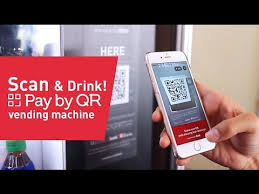 What Is The Code For Vending Machines Enchanting Scan Drink Pay By QR Vending Machine YouTube