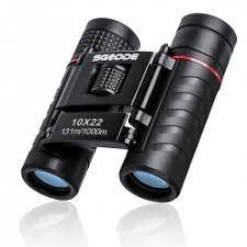 <b>Mini Compact Binoculars</b>, SGODDE 10x22 <b>Small Folding Binoculars</b> ...